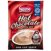 Nestle Hot Choc Sachets 100/Ctn