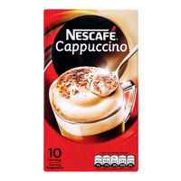 Nescafe cappuccino 12.5g 10pc