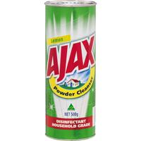 Ajax Powder Cleaner 500gm - Each