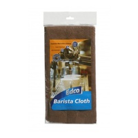 Edco Barista Microfibre Cloth (Coffee Coloured) - Each
