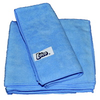 TUF Contractors Blue Microfibre Cloth 36x36cm - Each