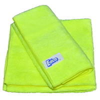 TUF Contractors Yellow Microfibre Cloth 36x36cm - Each