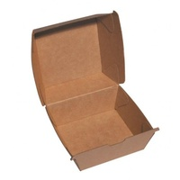 Beta Board Burger Box - 105x102x85mm - Sleeve of 250
