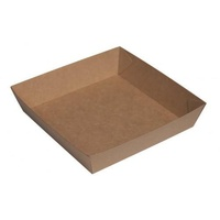 Beta Board Food Tray No 2 - 178x178x45mm - Carton of 250