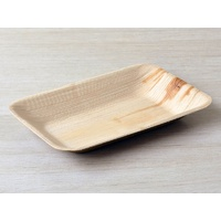 Bamboo Plate Rectangle 160x230mm - Sleeve of 25