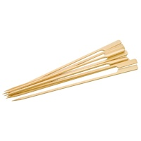 Bamboo Paddle Skewer Premium 200mm - Sleeve of 100