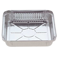 Foil Container 7223 Large Square - 1.5kg - Sleeve of 10