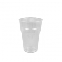 Genfac Plastic Cup 215ml - Sleeve of 50