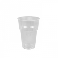 Genfac Plastic Cup 425ml - Sleeve of 50