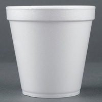 Dart Foam Container 16MJ32 16oz Hot/Cold - Sleeve of 25