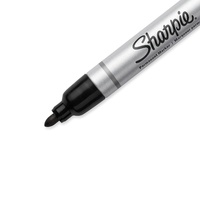 Sharpie Marker Pen Black Bullet Tip - Each