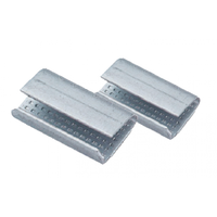 Metal Seals Serrated 16mm  (PET Strap) - Carton of 1000