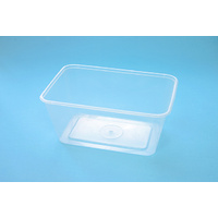 Genfac Rectangle Container 1000ml - Sleeve of 50