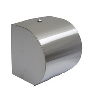 Roll Towel Dispenser - Stainless Steel - Each