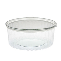 Sho Bowl 20oz PET Flat Lid - Sleeve of 50