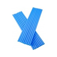 Drinking Straws Regular Blue Ctn 5000 - Carton of 5000