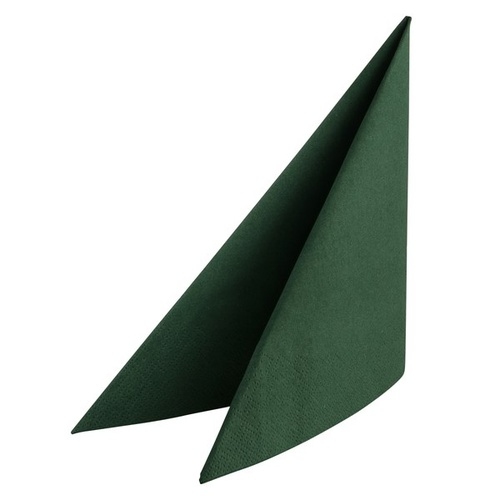 Napkin 2 Ply Luncheon Dark Green Alpen 320x320mm - Sleeve of 100