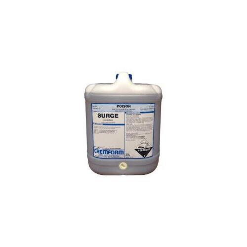 Surge - Alkali for liquid feed system in laundries - 20ltr Bottle